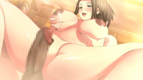 名家を訪ねる巨乳美人が少年とSEX-036